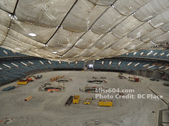BC Place Deflation from the inside