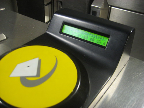 Aliens take over Oyster Card Reader