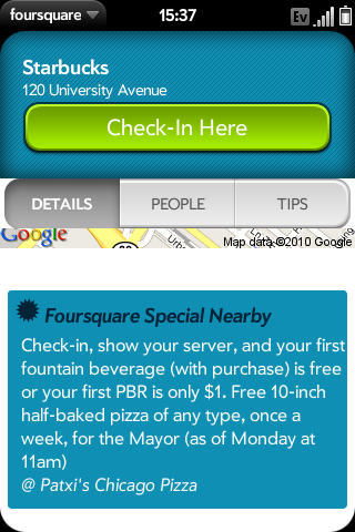Location-based Marketing on Foursquare. Global X/Flickr