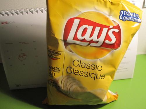 Lay's - $1.25