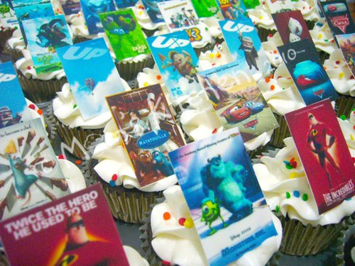pixar up movie poster. cupcakes-pixar movie posters
