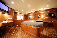 Sail yacht: two home theaters and 8 zones multiroom audio system (audiochicdotcom) Tags: home theater m57 m51 revox multiroom
