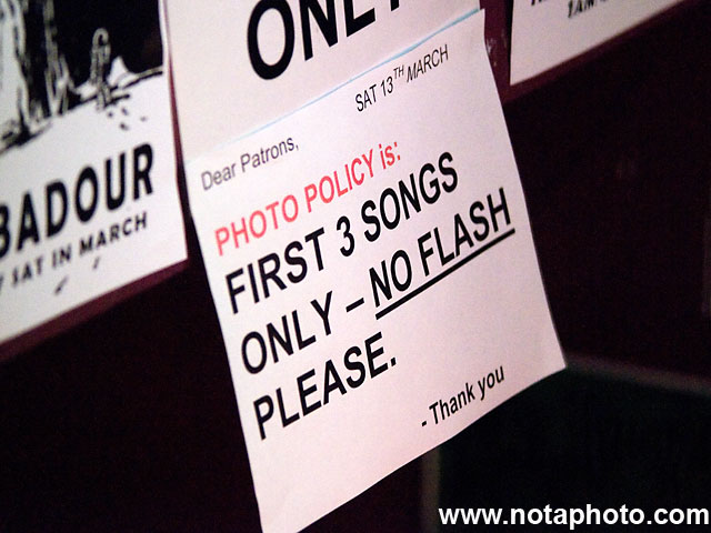 3 songs, no flash