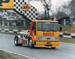 Steve Murty. Pirelli pro jet. (Wally Llama) Tags: trucks fordcargo pirelliprojet