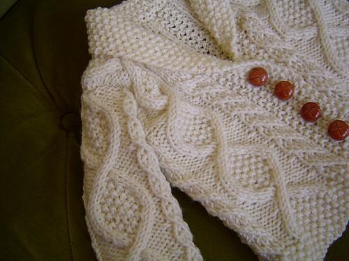Knitting Lemonade Old Man Baby Sweater