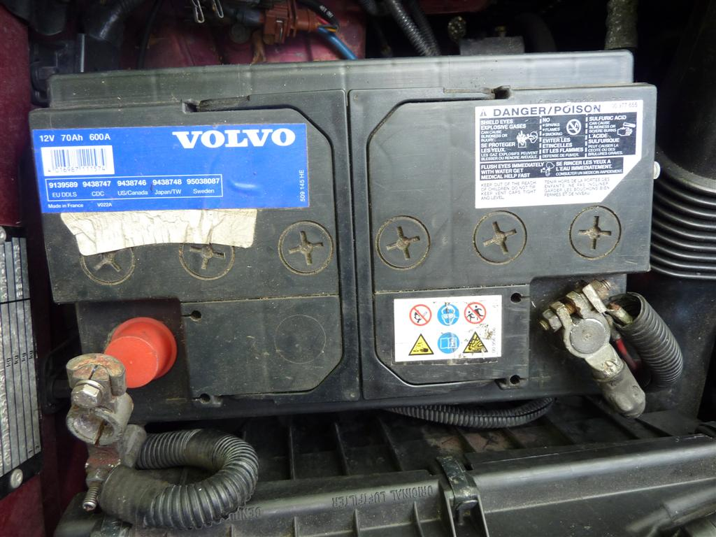 Who Makes Interstate Batteries >> Who Makes The Blue Volvo Label Battery? - FWD/AWD 1998 and ...