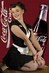 Pin up girl (Sbastien_C.) Tags: up nikon pin retro 50s cocacola publicit d300 modle
