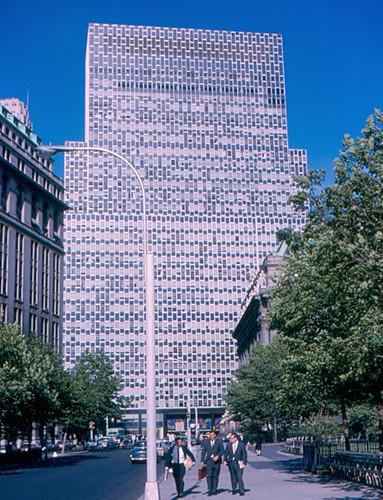 newyork manhattan broadway battery aep lowermanhattan 1964 americanelectricpower 2broadway