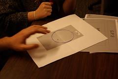 Paper-based prototyping (Samuel Mann) Tags: test paper interface testing prototyping prototype user experience gps bit navigation capstone otagopolytechnic project10