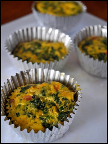 Vegetable Quiche Cups