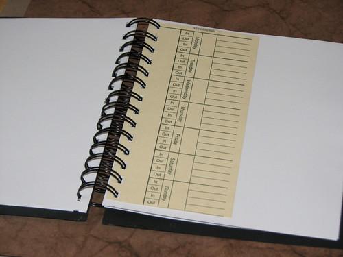 Distress Crackle Notebook 003