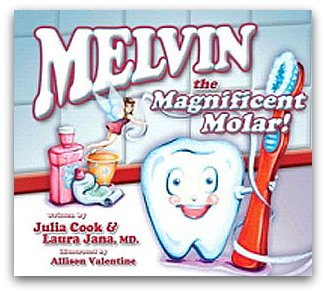 Cover of Melvin the Magnificient Molar