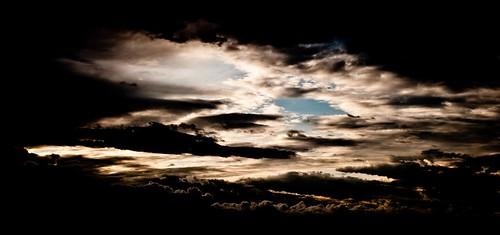 フリー写真素材, 自然・風景, 空, 雲, 暗雲,