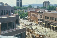 Construction of Old Town Square