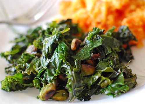 Kale & Pistachios