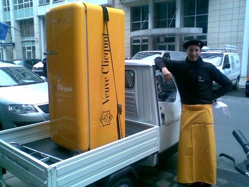 Kühlschrank von Veuve Clicquot