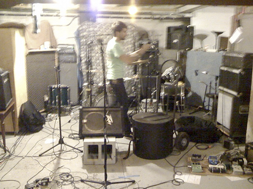 MH recording drums