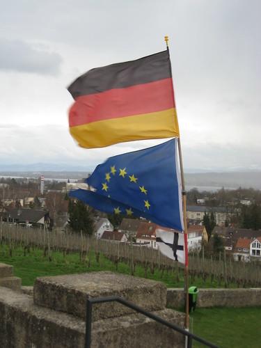 Deutschlandeuropakonstanzflagge