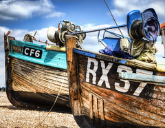 RX37 & CF6 (ShrubMonkey (Julian Heritage)) Tags: beach hastings fishingboats hdr stade wwb cf6 rx37