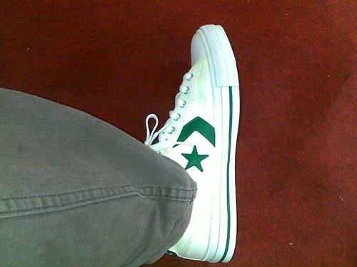 kasut baru topo