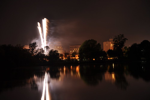 Victoria Day fireworks at Dow's Lake