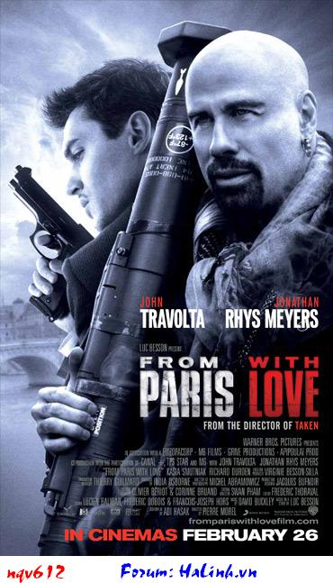 ZinOne Movie Download Fiml HD HOT VIP From Paris with Love [2010] [DVDrip] [MF/MU/HF/RS/UG] [SubV]
