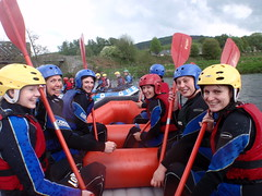 fun rapids rafting