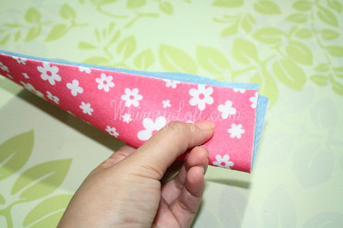 Tutorial : Simple Felt Purse 4