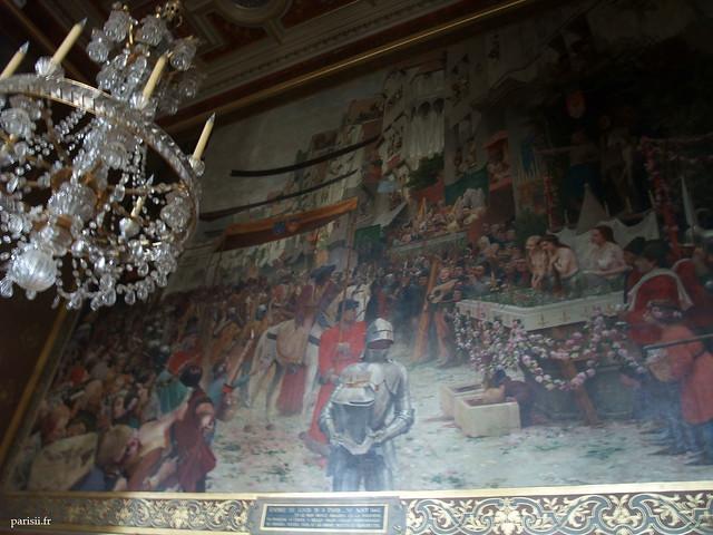 Tableau monumental de Francis Tattegrain