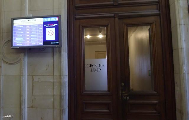 Bureaux du groupe UMP