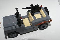 Willys Jeep (V2) (ReddWolfAK) Tags: lego jeep wwii ww2 ba willy brickarms