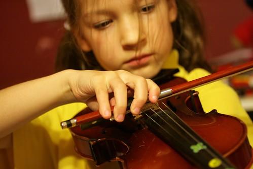 Day 144 - Violin Practice