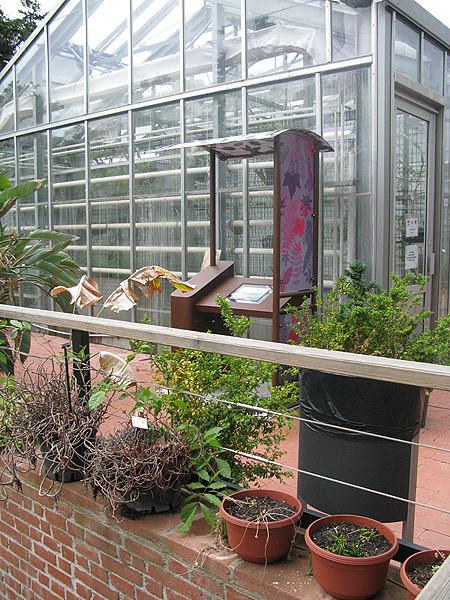 Borne interactive - Jardin botanique Henri Gaussen