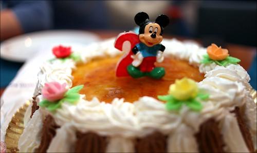 Tarta con Mickey