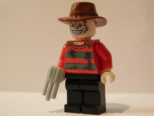 My Custom Lego Mini Figs Up For Sale Freddy Krueger