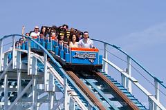 Blue Streak at Cedar Point (invertalon) Tags: blue ohio canon point eos streak cedar 7d l oh f2 135 riders sandusky cedarpointcanoneossandusky ohamusementpark franczek stevenfranczek invertalon stevefranczek
