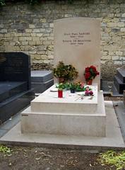 Montparnasse Cemetery (seanbirm) Tags: paris france cemetery sartre montparnasse beauvoir
