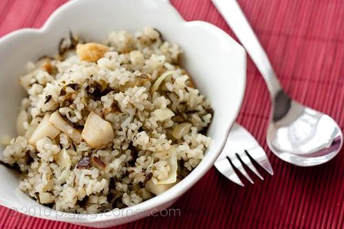 Olive vegetable fried rice 1