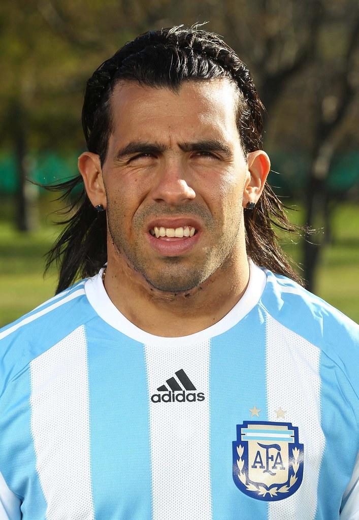 Carlos Tevez uniforme Argentina Mundial 2010