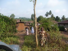 The road ends here (Barefoot In Florida) Tags: village nigeria villagers ogunstate