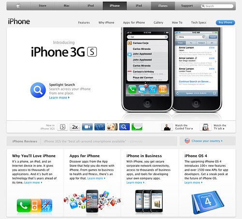 Apple Website Grab