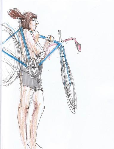 holdingbike