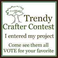 Trendy Crafter Button