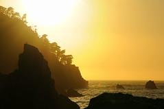 Pacific Sunset (J-Fish) Tags: ocean sunset sun nature coast bravo rocks pacificocean pointlobos pointlobosstatereserve d300s 1685mmf3556gvr 1685mmvr