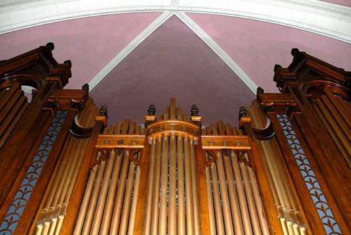 - Buffet - Orgue de tribune / Gallery organ - Église St-Roch - (Québec)