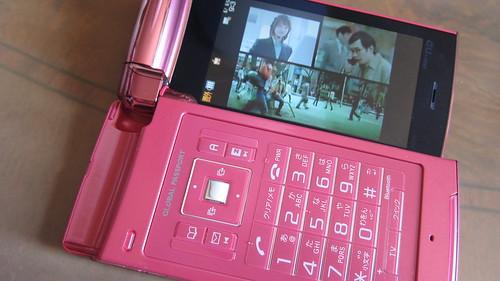 au2010年夏モデルBRAVIA Phone S004