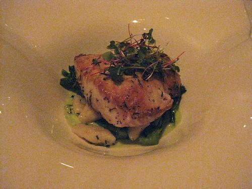 fish and gnocchi