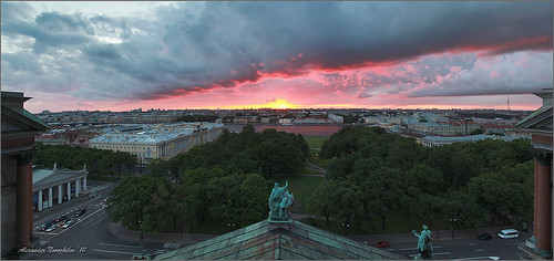 Sunset View from Isakievsky Church