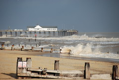 Southwold Pier (martopics) Tags: light pier sand waves groyne southwold