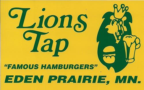 2010 Lions Tap - Eden Prairie, MN (Bumper Sticker)
